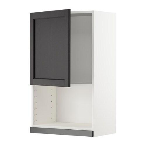 METOD Pensile per forno a microonde - Lerh mordente nero, 60x100 cm ...
