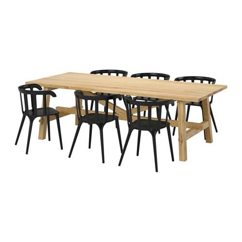 Ikea Tavoli E Sedie.Mockelby Ikea Ps 2012 Tavolo E 6 Sedie Ikea