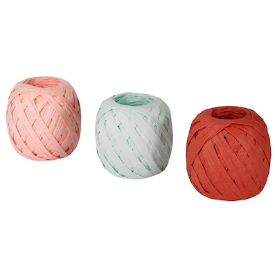 MOLOKEN Nastro, arancione/rosa/azzurro, 20 m