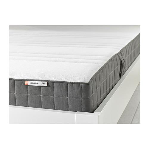 MORGEDAL Materasso in schiuma - 90x200 cm, rigido/grigio scuro - IKEA