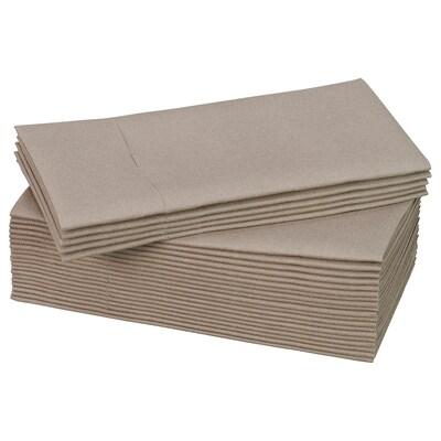 MOTTAGA Tovagliolo di carta, beige, 38x38 cm