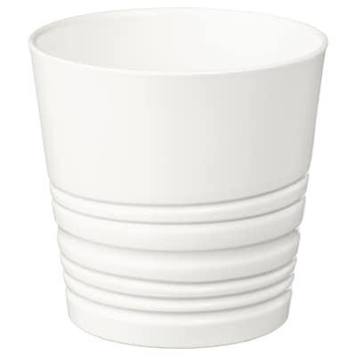 MUSKOT Portavasi, bianco, 9 cm