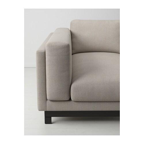 Nockeby gambe divano 2 posti chaise longue ikea for Divano chaise longue ikea