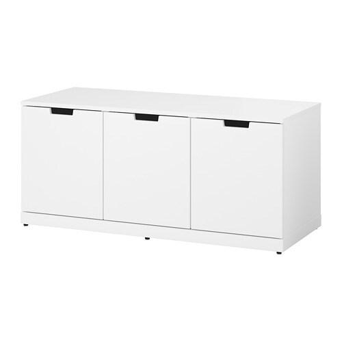 Cassettiera Malm Ikea 3 Cassetti.Nordli Cassettiera Con 3 Cassetti Bianco
