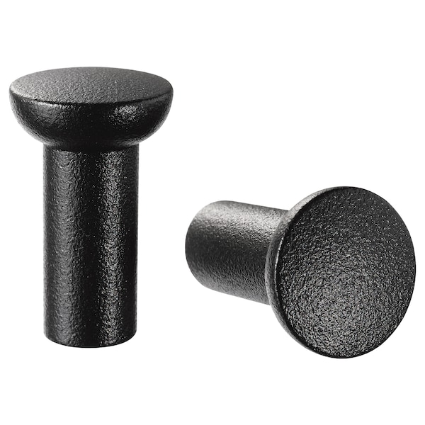 NYDALA Pomello, nero, 16 mm