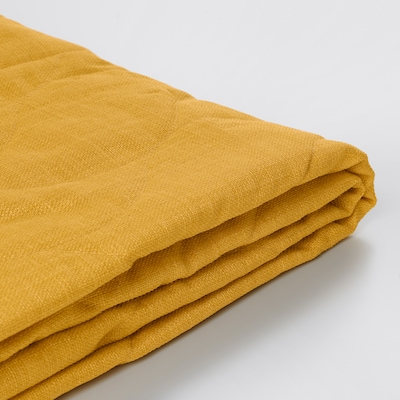 NYHAMN fodera per divano letto a 3 posti Skiftebo giallo