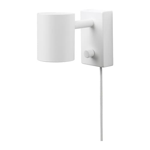 Nym ne lampada da parete lettura ikea for Ikea lampade da parete