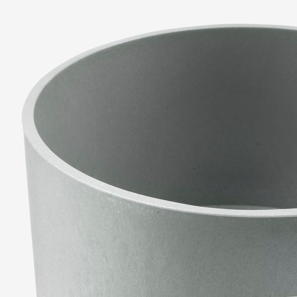 NYPON portavasi da interno/esterno grigio 20 cm 22 cm 19 cm 21 cm