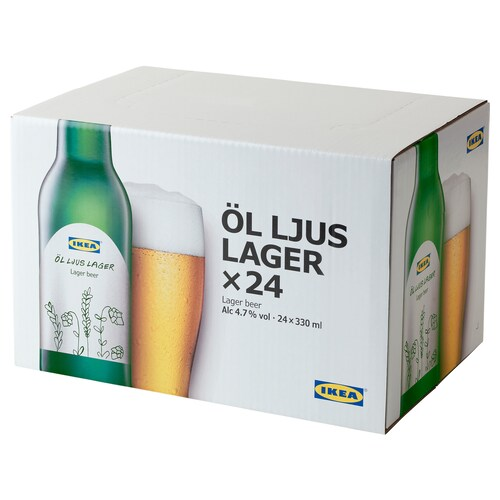 IKEA ÖL LJUS LAGER Birra lager 4,7%