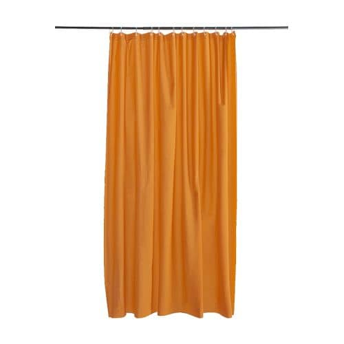 Oleby tenda doccia arancione ikea - Tenda doccia ikea ...