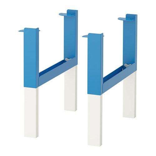 Piani Tavolo Ikea.Pahl Base Per Piano Tavolo Blu