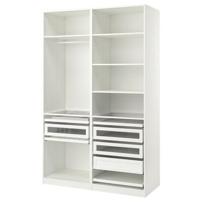 PAX Combinazione di guardaroba, bianco, 150x58x236 cm
