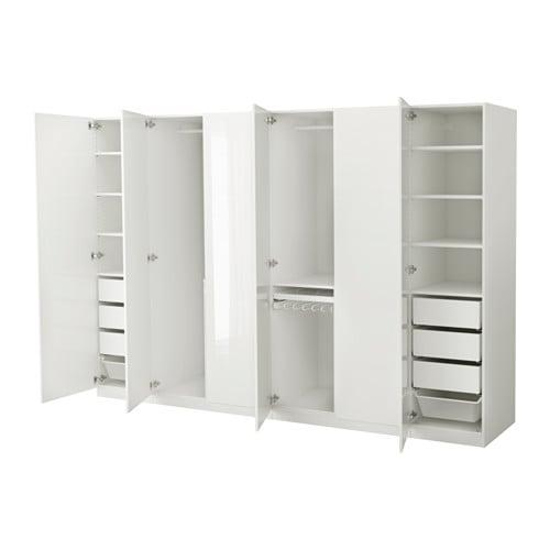 Pax guardaroba 300x60x201 cm cerniere standard ikea - Cerniere per armadi camera da letto ...