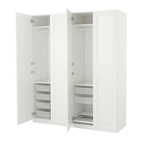 Pax guardaroba 200x60x236 cm cerniere standard ikea - Ikea mobile pax ...