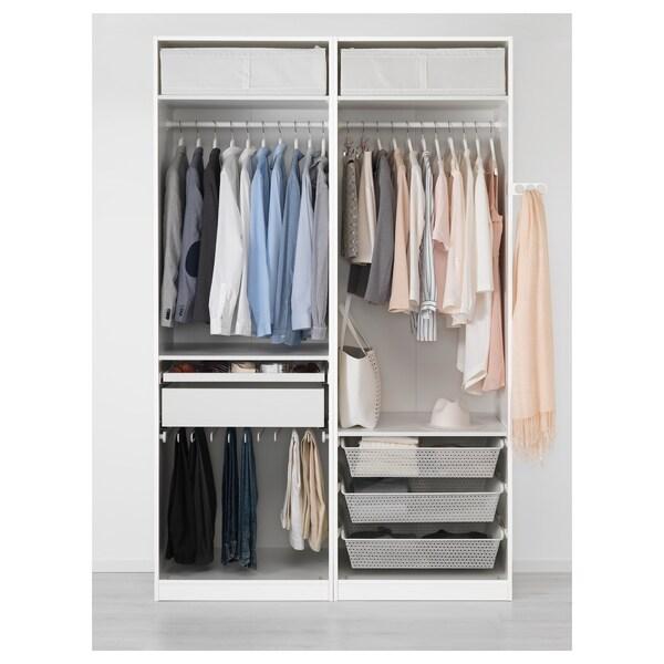 Ikea Guardaroba Pax Komplement Sistema Componibile.Pax Guardaroba Bianco Auli Vetro A Specchio Ikea Svizzera