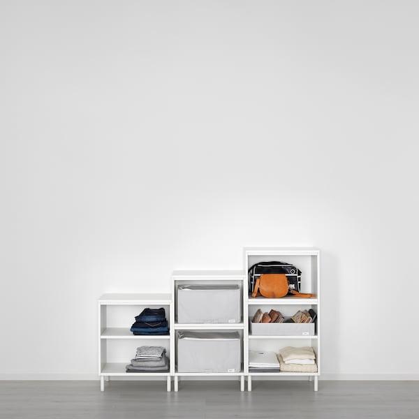 PLATSA Mobile, bianco/Fonnes bianco, 180x42x113 cm