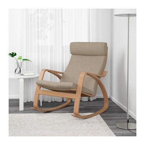 POÄNG Sedia a dondolo - Finnsta grigio - IKEA