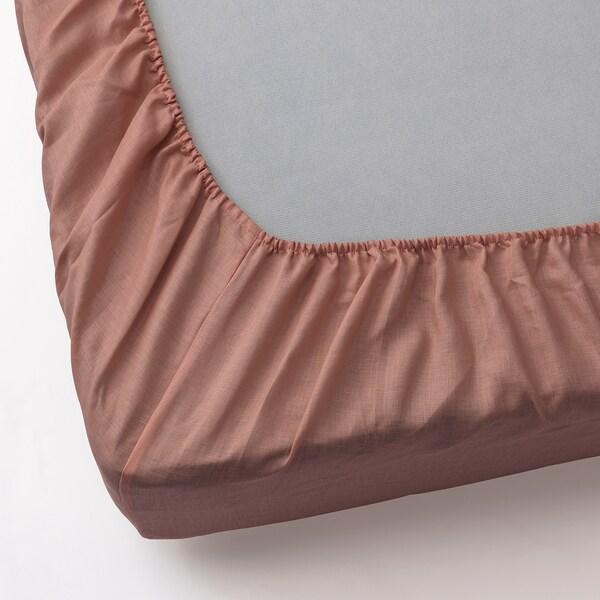 PUDERVIVA lenzuolo con angoli rosa scuro 104 Pollice² 200 cm 90 cm 36 cm