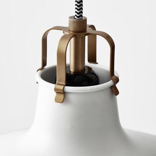 RANARP Lampada a sospensione, bianco sporco, 38 cm