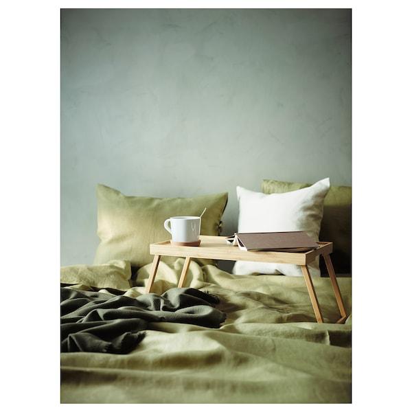 RESGODS Vassoio da letto, bambù