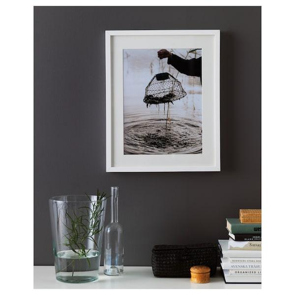 RIBBA Cornice, bianco, 40x50 cm