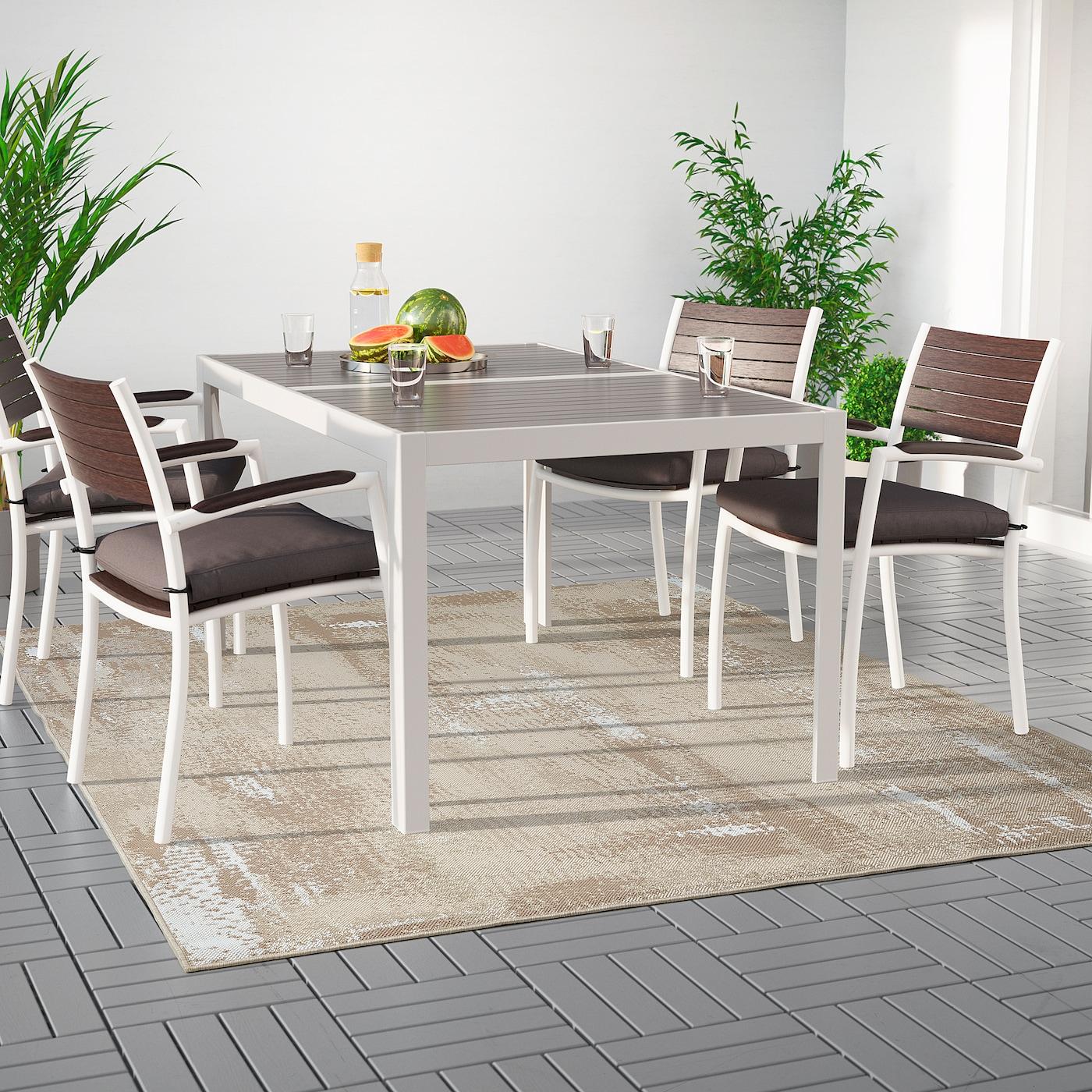 Rodelund Tappeto Tessitura Piatta Int Est Beige 200x250 Cm Ikea Svizzera