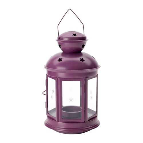 Rotera lanterna candelina interno esterno ikea for Lanterne da interno