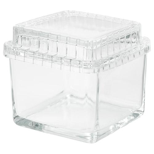 IKEA SAMMANHANG Scatola in vetro con coperchio