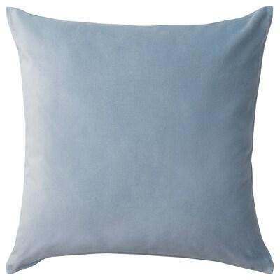 SANELA Fodera per cuscino, azzurro, 50x50 cm