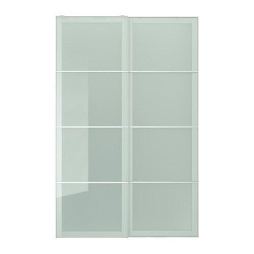 Sekken coppia di ante scorrevoli 150x236 cm for Ikea guardaroba ante scorrevoli