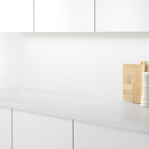SIBBARP Rivestimento da parete su misura, bianco laminato, 1 m²x1.3 cm