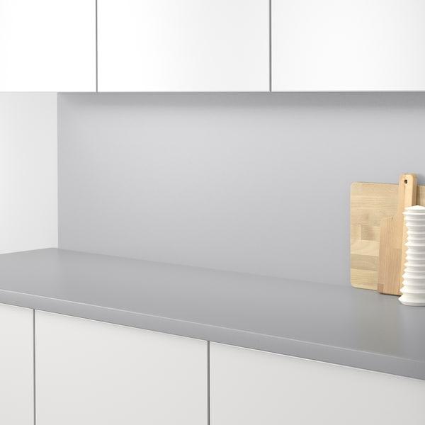 SIBBARP Rivestimento da parete su misura, grigio chiaro laminato, 1 m²x1.3 cm