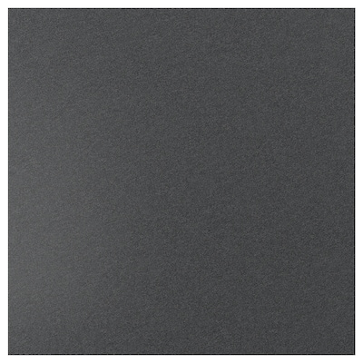 SIBBARP Rivestimento da parete su misura, nero effetto pietra/laminato, 1 m²x1.3 cm