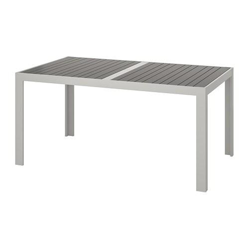 Ikea Tavolino Da Letto.Sjalland Tavolo Da Giardino Grigio Scuro Grigio Chiaro