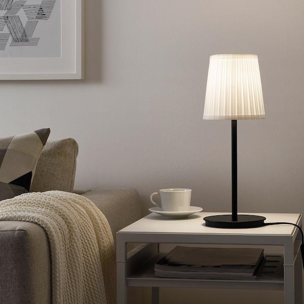 SKAFTET Base per lampada da tavolo, nero, 30 cm
