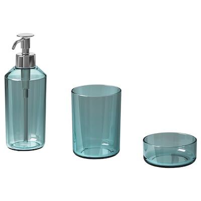 SKISSEN Set per bagno, 3 pezzi