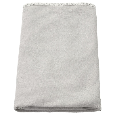 SKÖTSAM Fodera per materassino fasciatoio, grigio, 83x55 cm