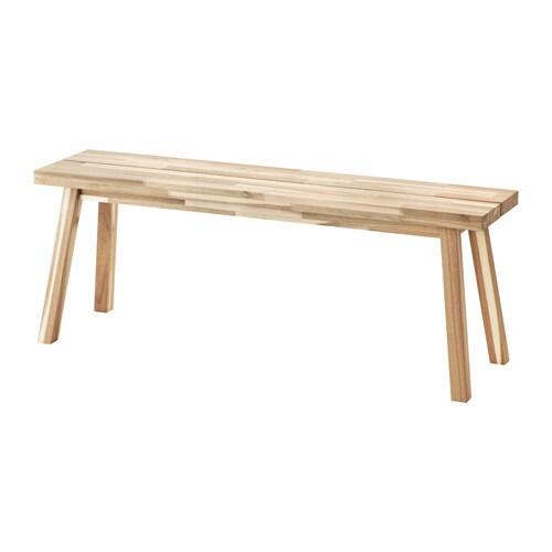 Skogsta panca ikea for Ikea panche
