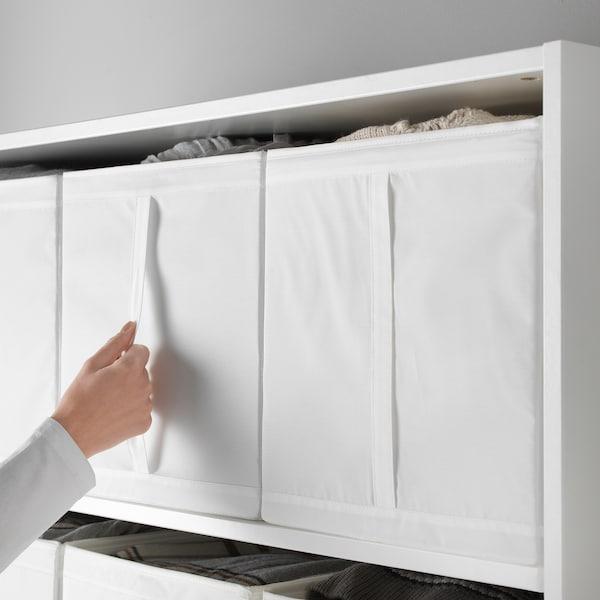SKUBB Contenitore, bianco, 31x34x33 cm