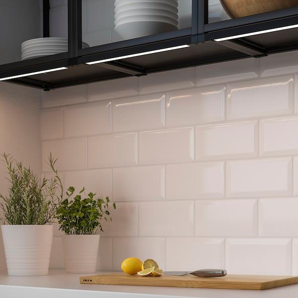 SKYDRAG Barra lum LED sottopen/guardar/sens, intensità luminosa regolabile antracite, 60 cm