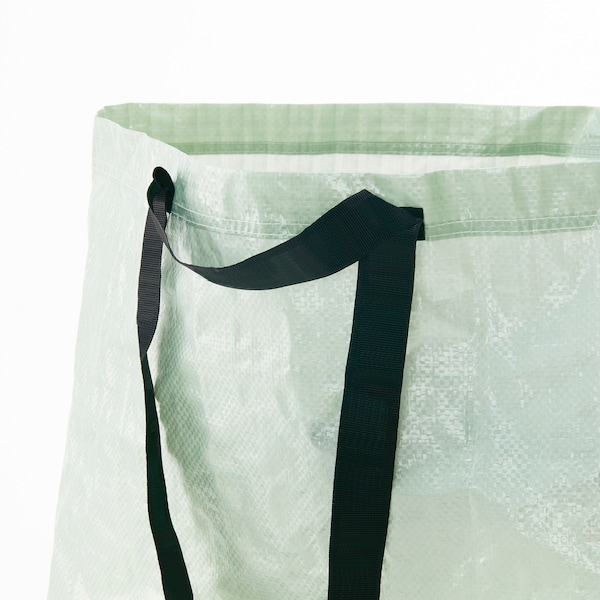 SLUKIS Borsa portatutto grande, verde pallido, 71 l