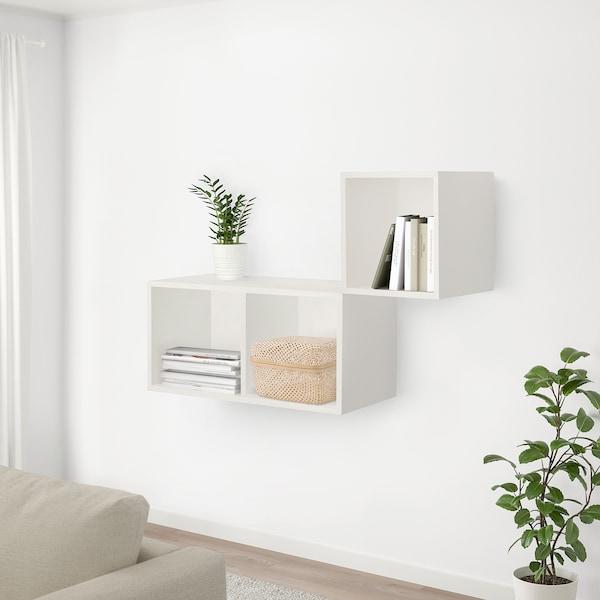 SMARRA Scatola con coperchio, naturale, 30x30x23 cm