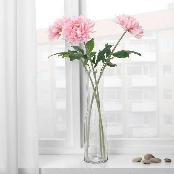 SMYCKA Fiore artificiale, Dalia/rosa pallido, 75 cm