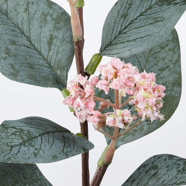 SMYCKA Fiore artificiale, eucalipto/rosa, 30 cm