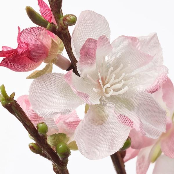 SMYCKA Fiore artificiale, fiori di ciliegio/rosa, 130 cm