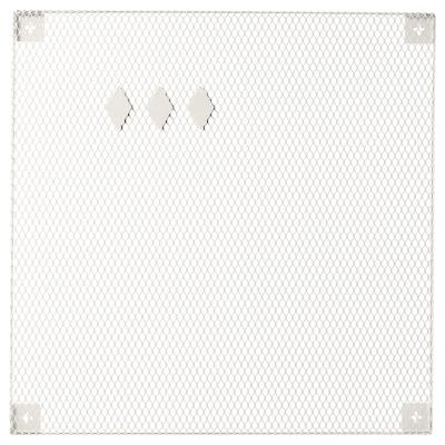 SÖDERGARN Bacheca con calamite, bianco, 60x60 cm