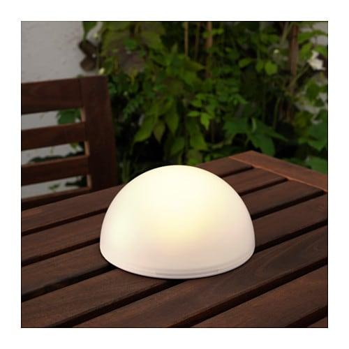 Solvinden illuminazione led energia solare ikea - Lampade energia solare ikea ...