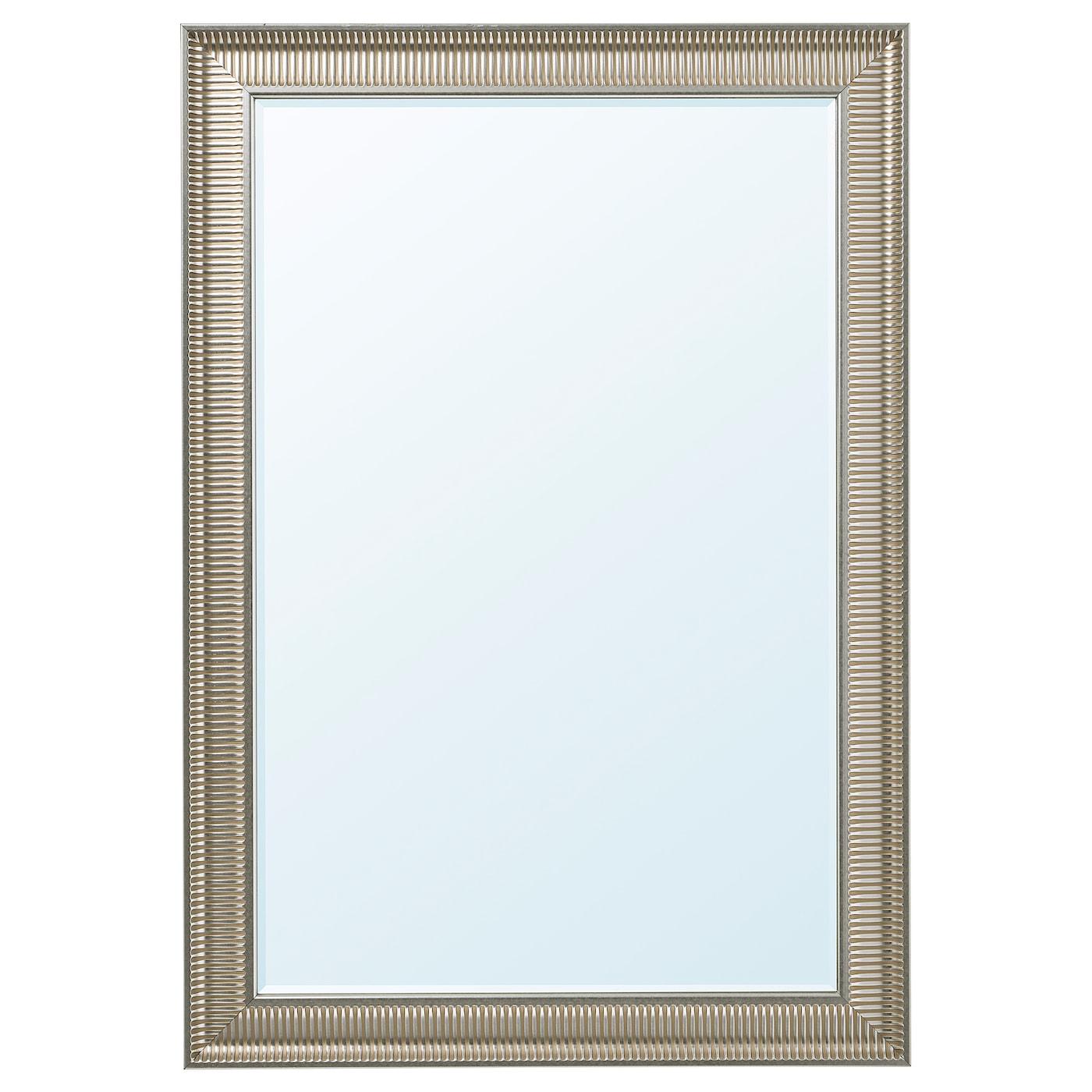 Specchi Con Cornice Ikea.Songe Specchio Color Argento