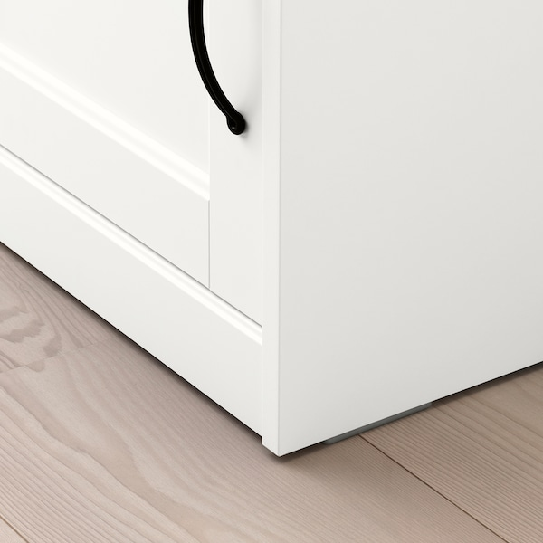 SONGESAND comodino bianco 42 cm 40 cm 55 cm 11 cm