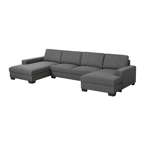 SÖRVALLEN Divano 2 posti con 2 chaise-longue - IKEA